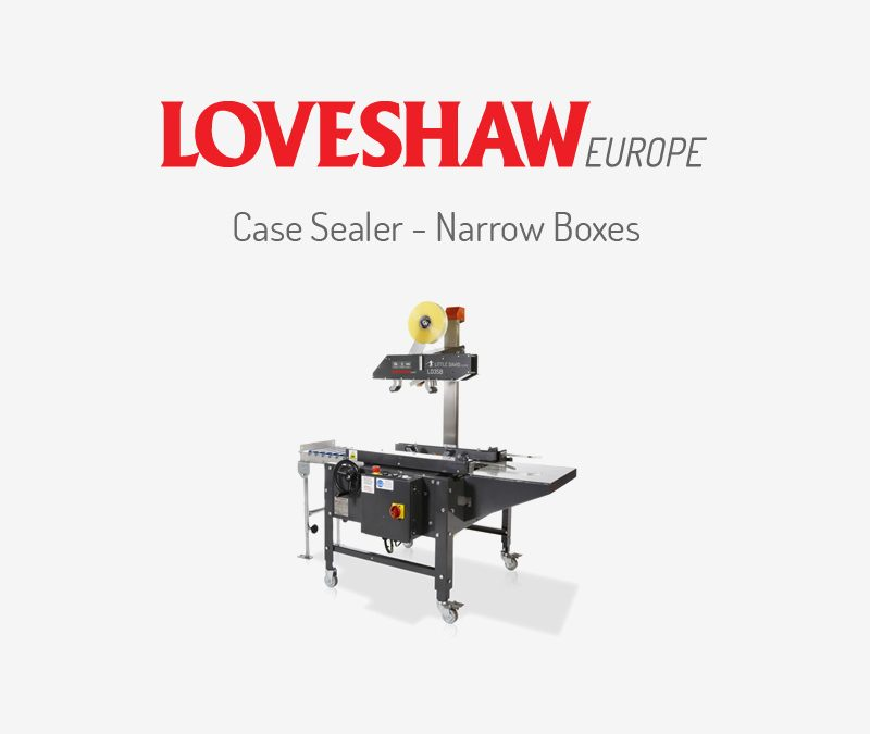 Case Sealer – Narrow Boxes