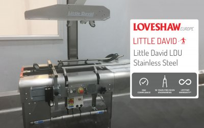 Stainless Steel Case Sealer for Corrosive Environments